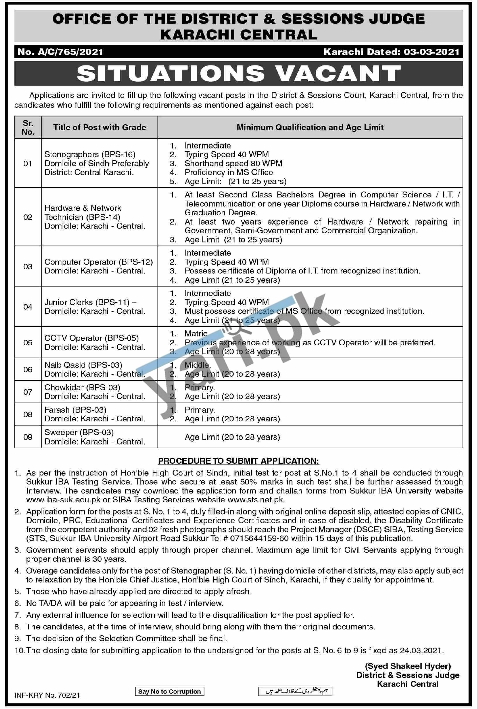 CCTV Operator Jobs in District