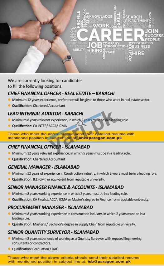 Multiple Jobs in Islamabad