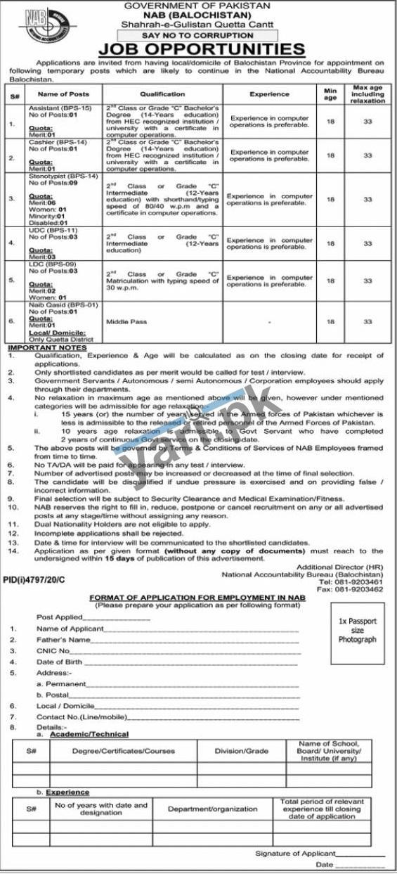 nab-jobs-2021-for-upper-division-clerk