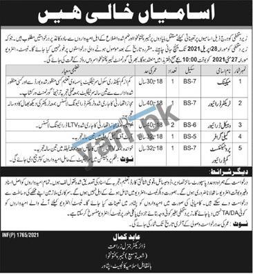 govt-of-kpk-jobs-2021-for-calligrapher