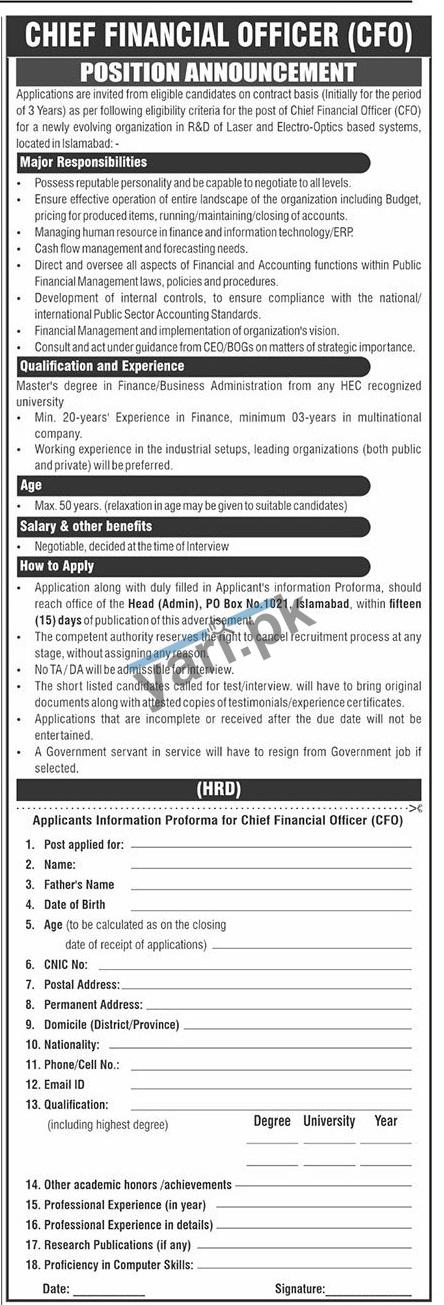 private-company-jobs-2021-for-chief-financial-officer
