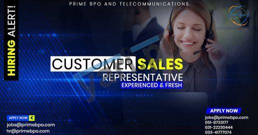 private-company-jobs-2021-for-customer-sales-representative