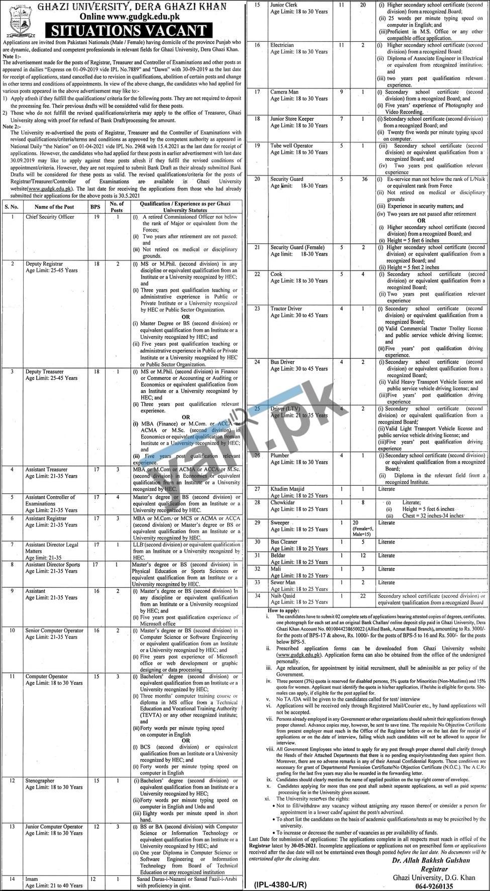 university-staff-jobs-2021-for-junior-clerk