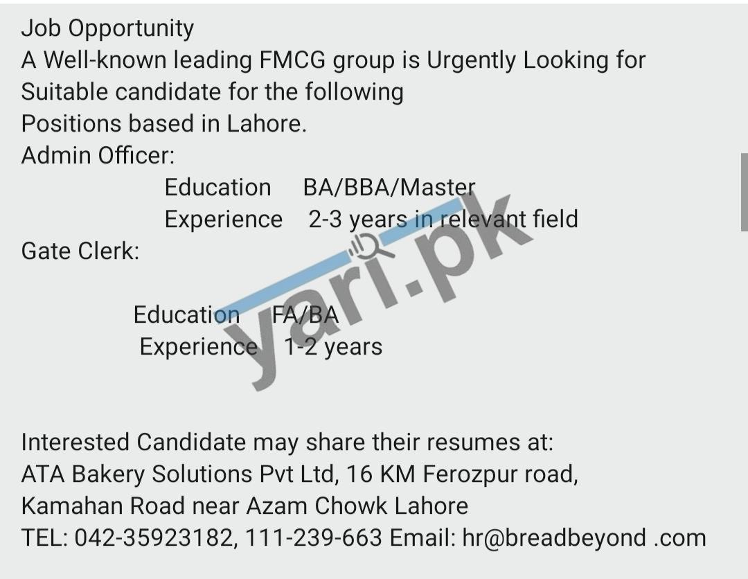 FMCG Group