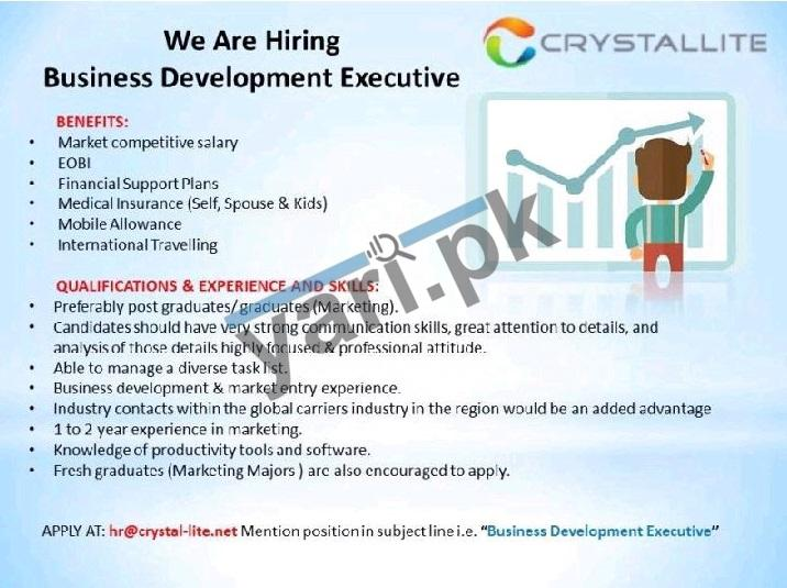 crystal-lite-jobs-2021-for-business-development-executive