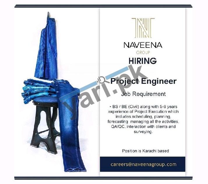 karachi-jobs-2021-for-project-engineer