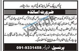 latest-jobs-in-police-public-school-college-peshawar-2021