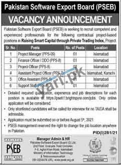 pakistan-software-export-board-jobs-2021