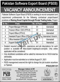 pseb-jobs-2021-for-office-assistant