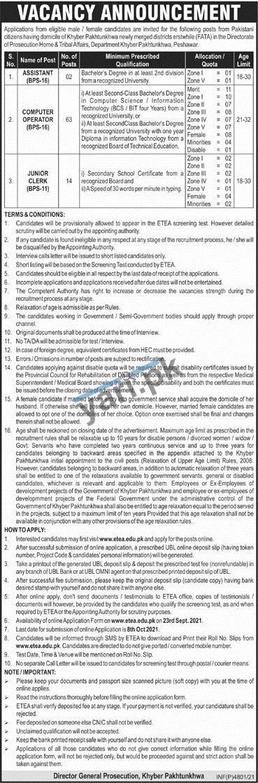govt-of-kpk-jobs-2021-for-computer-operator