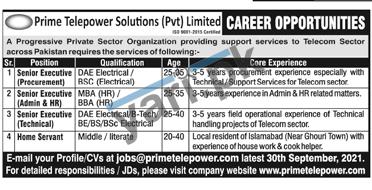 islamabad-jobs-2021-for-executive-procurement