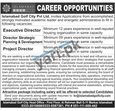 islamabad-jobs-2021-for-project-director